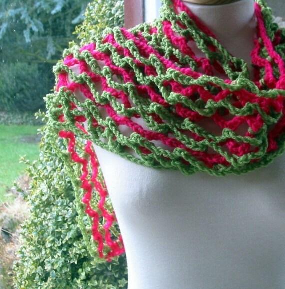 Ebba Wrap Scarf Shawl 3 Dimensional Freeform Style Crochet Pattern PDF