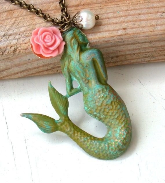 Mermaid Necklace - The Little Mermaid Necklace