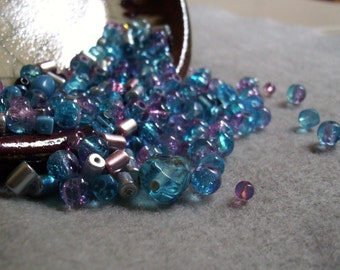 Blue Hawaii - Bead Mix - 150 beads