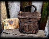 Civil War Mail Bag