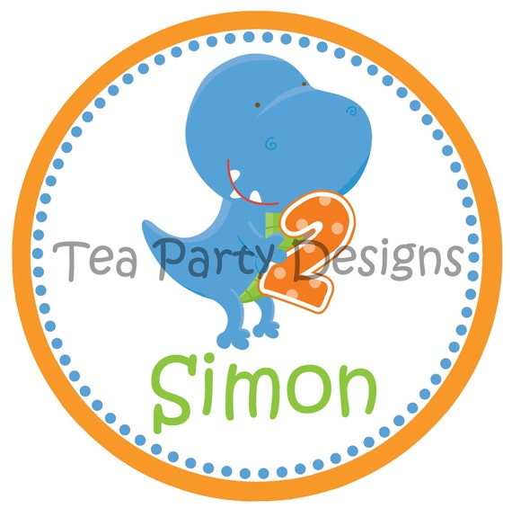 My Little Dinosaur...Personalized Dinosaur Party Iron-on Shirt Transfer