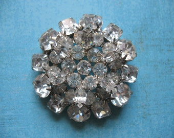Holly Golightly Stunning Crystal Brooch