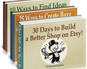Ultimate Etsy Success Kit - 3 Books
