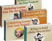 The Complete Etsy Success Kit - 5 Books