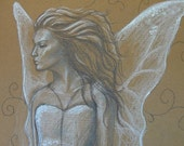 SALE Original drawing Study - Faerie Queen