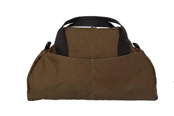 Yogi - Brown Drill Canvas - Shoulder Bag - Messenger Bag