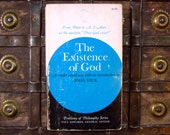 The Existence of God - Edited and with an introduction by John Hick - 1970s paperback philosophy book