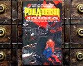 The Dark Between the Stars - Poul Anderson - 1980s paperback science fiction book