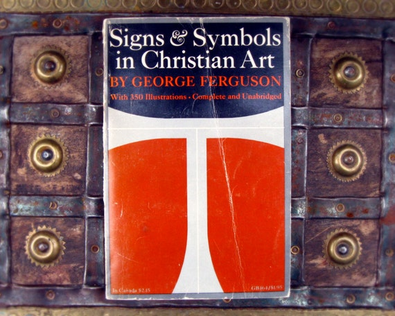 Signs & Symbols in Christian Art - George Ferguson - 1970s paperback book