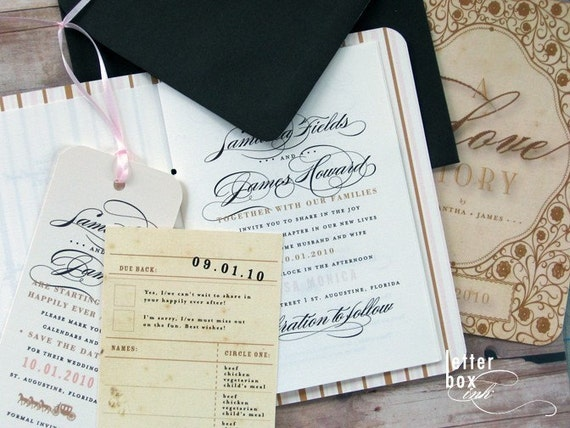 Storybook - Wedding Invitation