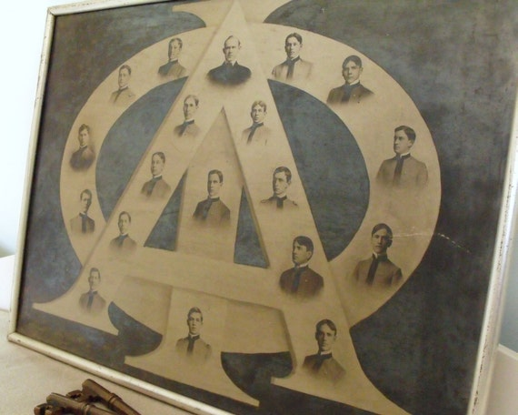 Antique Fraternity Cadets Photo 1800s Asheville NC