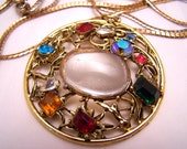 Long Pendant of Stones and Gems.
