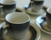 Vintage Demitasse Cups and Saucers