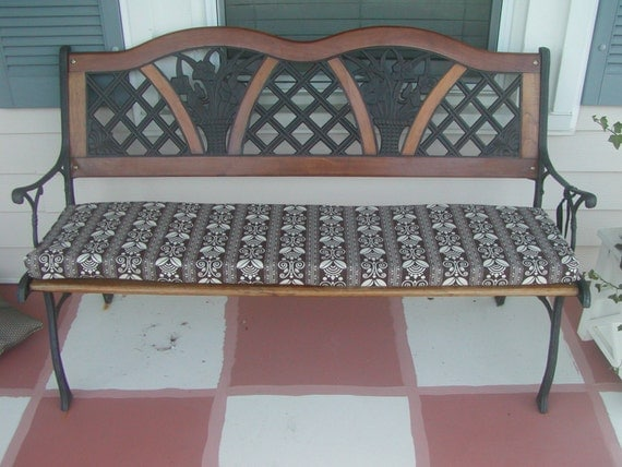 Custom Made Indoor or Outdoor Bench Seat Cushion by ...