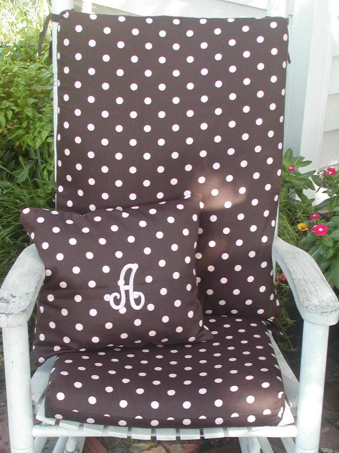 Rocking Chair Cushions And Pillow For Indoor Or By Taterbabies