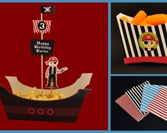 Pirate printable party combo
