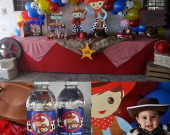 Printable Cowboy Party