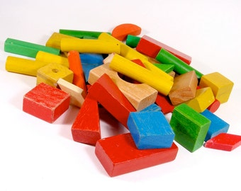 Mixed Wooden Blocks