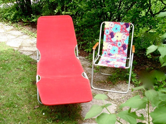 1970s Chaise Lounge Amp Lawn Chair
