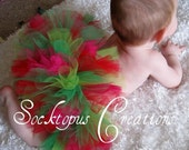 Custom Made To Order Double Layered Tutu- Pick Your Own Colors Newborn Infant Toddler