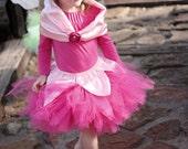 Sleeping Beauty Princess Inspired 3 Piece Tutu Costume Sizes Newborn to 4T