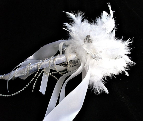 Alternative, Wedding Bridal toss, bridesmaid,  brooch bouquet, or use it as your rehearsal and toss bouquet