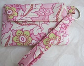 iPhone casing/purse/wristlet  (F) made with Amy Butler/ Heather Bailey  FREE SHIPPING