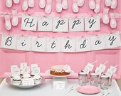 TULIP, The BALLERINA Collection - Printable Birthday Décor