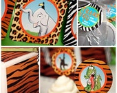ZOO KROO Collection - Printable Party Décor