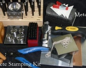 The COMPLETE STAMPING KIT Dapping Set, Disk Cutter, Metal It's all here to start stamping - Instructions Included