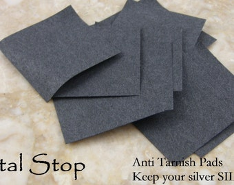 ANTI TARNISH PADS Keeps your Silver -Silver They work great and Long Lasting 12 months per Pad Lot of 10 Pads