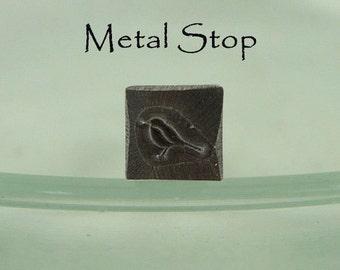 Metal Design Stamp - Bird (ONE left - discontinued design)