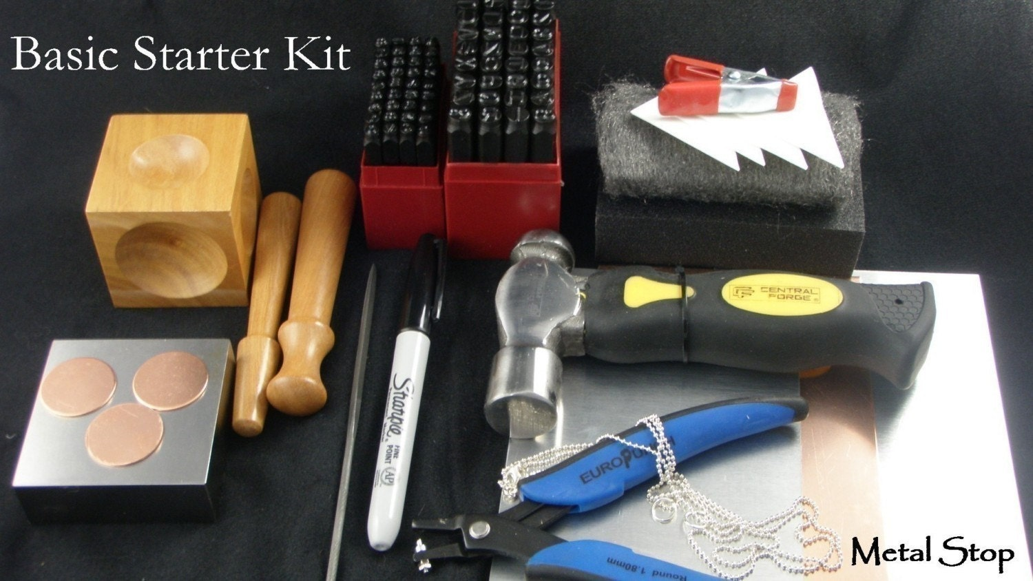 etsy metal jewelry stamping kit terrific starter kit two