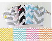 Chevron iPhone Cover - YOU CHOOSE the fabric - Fabric Cell Phone Case in Zigzag, Pastels - PREORDER