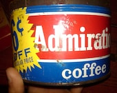 Admiration Coffee Tin