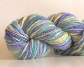 CLEARANCE  - Handspun HandDyed BFL wool Bulky Single Yarn - 96 yards