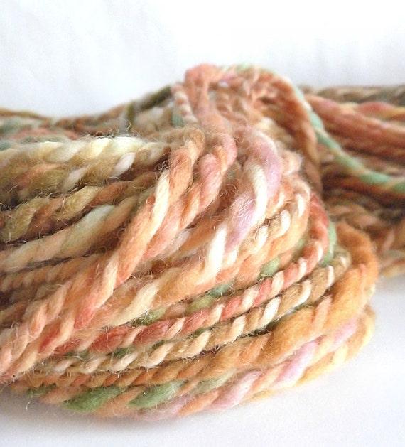 CLEARANCE Lothlorien II - Handspun hand dyed Merino wool 2 ply Super Bulky  yarn