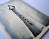 Lighthouse (Original ACEO) - Buy Now Before Jan 3rd Price Increase