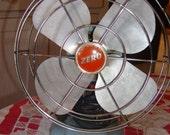 Vintage Blue Zero 40 watt fan