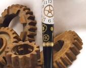 Steampunk Gear Pen - It's Five O'clock