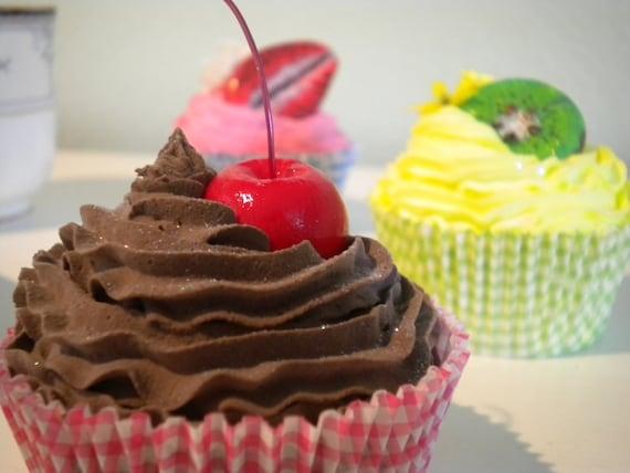 Realistic Faux/Fake Cupcakes