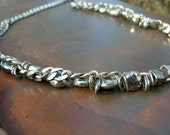Sterling Pyrite Beauty Necklace