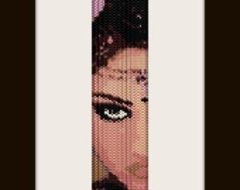 PDF Oriente 1 pattern bracelet in peyote stitch pattern for personal use only