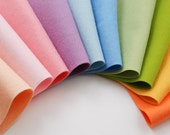 100 Percent Wool Felt Sheets- The Spring Has Sprung Collection