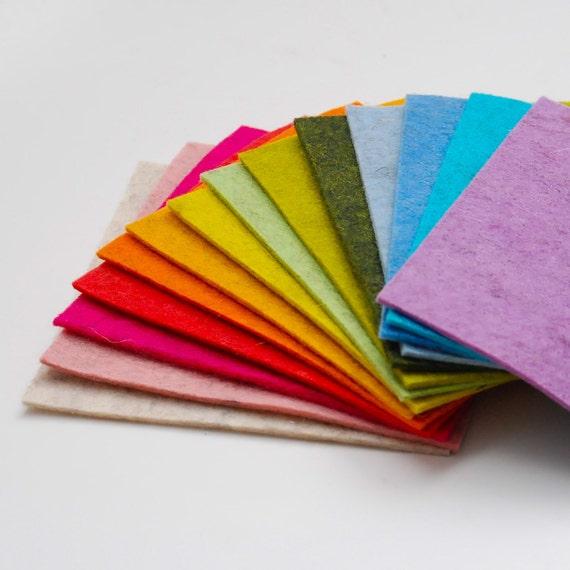 Heathered Wool Felt- The Petite Pack