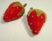 Vintage Strawberry Embellishments