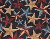 Stars Tie On Patriotic Dog Bandana