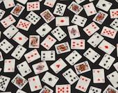 Playing Cards  Tie On Dog Bandana