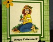Handmade Card for Retirement