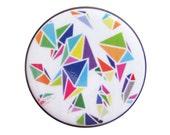 Big Rock Candy Mountian - Geometric Pinback Button